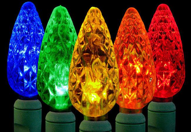 Green Christmas Tree Lights