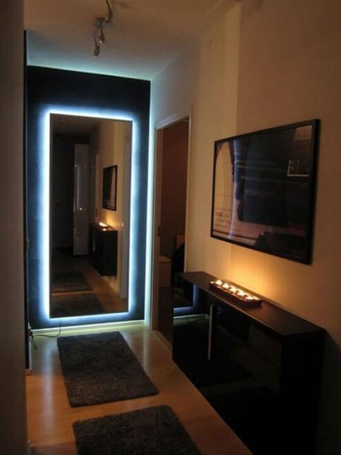 night club mirror led strip