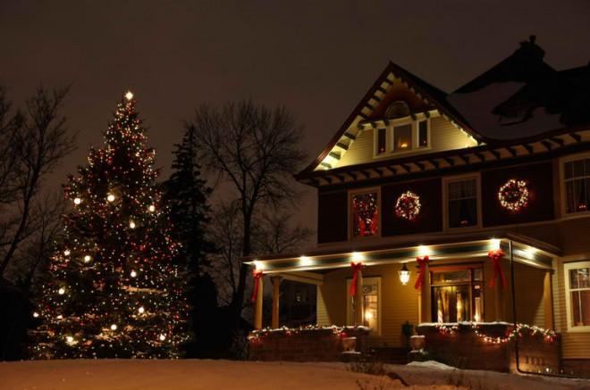 Outdoor Green Christmas Tree
