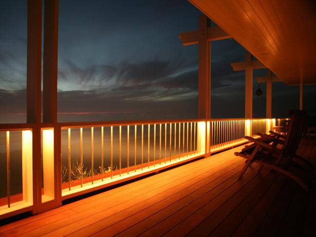 rope lighting deck lights