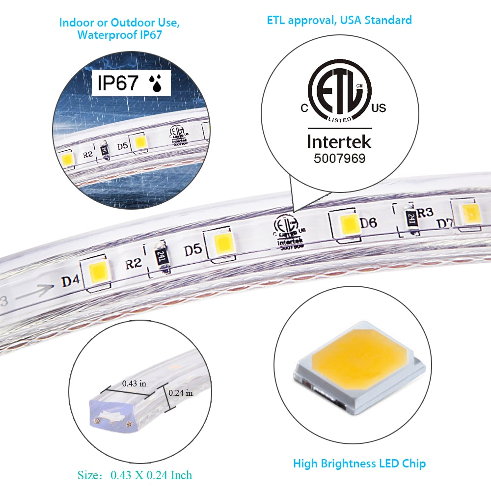 Discover 120 Volt LED Strip Lights